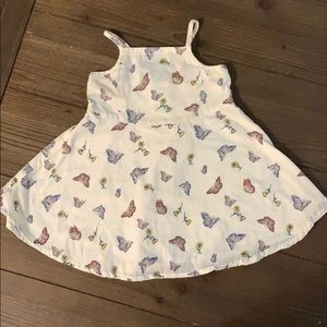 Old navy butterfly dress 18/24 months